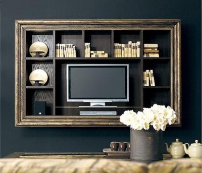 Galleria categoria classico glamour foto porta tv a parete - Porta televisore da parete ...